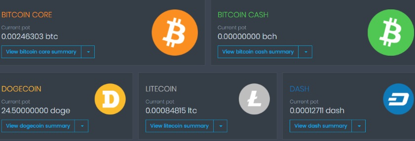 What Are The CoinPot Microwallet Faucets?