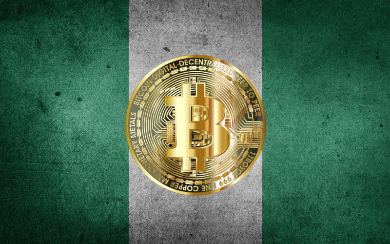 Nigerian Flag Bitcoin Freecoyn